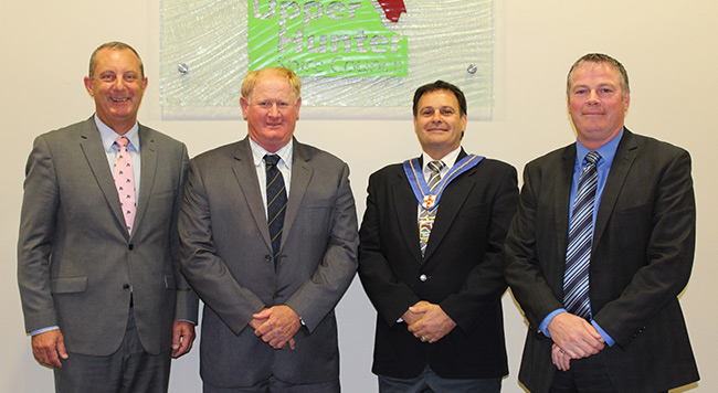 New Mayor and Deputy Mayor for Upper Hunter Shire