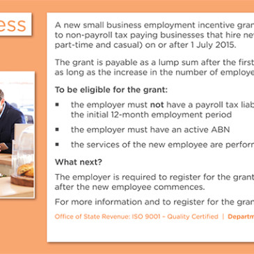 Small Business Grant Seminars