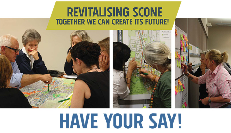 Revitalising Scone – together we can create its future!