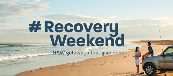 A #RecoveryWeekend logo has been created to be used across the campaign.