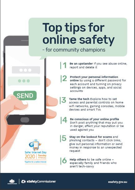 online safety brochure