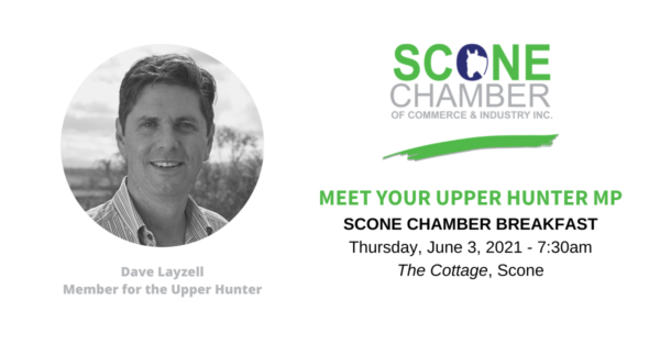 Scone Chamber of Commerce March Breakfast Meeting